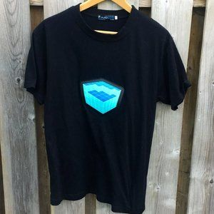 Flashwear sound activated mens cotton tee - size S